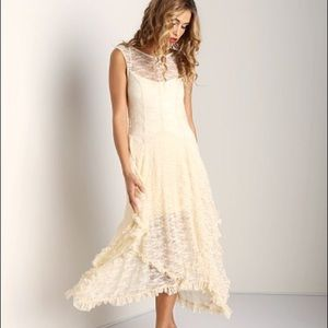 Free People French Courtship Slip, Ivory NWT